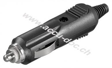 KFZ / Auto Zigarettenanzünder, 12/24 V Stecker - mit 2,5 A Sicherung