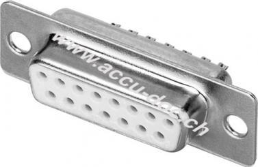 SUB-D standard Buchsenleiste - 15-polig
