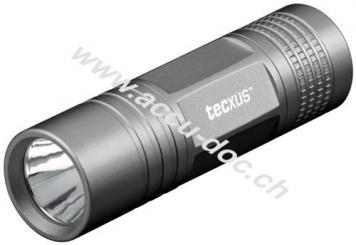 easylight S80, Anthrazit - handliche Mini LED-Taschenlampe mit hoher Leuchtweite