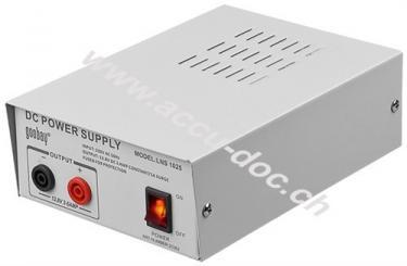 Labor Festspannungsnetzteil, Grau - mit 3 A und 13,8 V DC