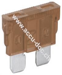 Kfz-Sicherungssortiment, 6 tlg., 7.5 A, Braun - 7,5 A, 19,1 x 5,1 x 18,5 mm