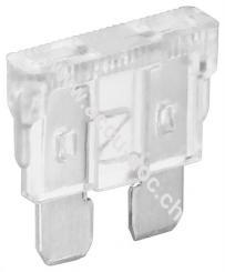 Kfz-Sicherungssortiment, 6 tlg., 25 A, Transparent - 25 A, 19,1 x 5,1 x 18,5 mm