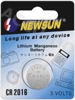 CR2016 - Lithium-Knopfzelle, 3 V