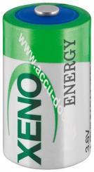 1/2 AA (Mignon)/ER14252 (XL-050F) - Standard-Top, Standard-Top - 3,6 V, 1200 mAh, Lithium-Thionylchlorid Batterie