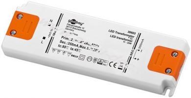LED Konstantstrom-Trafo 350 mA / 20 W, 20 W - 350 mA CC für LEDs bis 20 W Gesamtlast