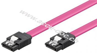 HDD S-ATA Kabel 1.5 GBits / 3 GBits Clip, 0.5 m - SATA L-Typ Stecker > SATA L-Typ Stecker