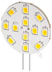 LED Strahler, 2 W - Sockel G4, ersetzt 22 W, kalt-weiß, nicht dimmbar