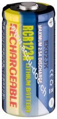 CR123A - 500 mAh - Lithium-Ionen Akku (Li-Ion), 3 V