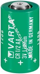 CR1/2AA / 1/2 AA (Mignon) (6127) - Lithium-Mangandioxid Batterie, 3 V