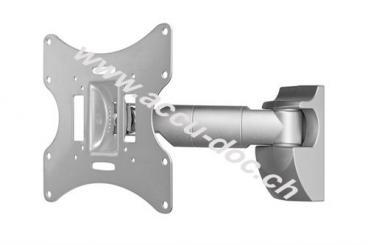 TV EasyScope M, Silber - Teleskopwandhalter für TVs bis 107 cm (42'')