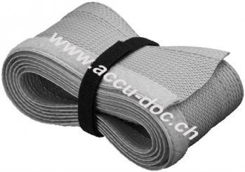 Kabelmantel, Grau - 1,8 m flexibler und montagefreundlicher Kabelmantel