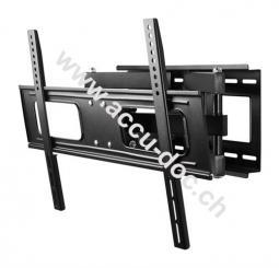 TV EasyFold XL, Schwarz - Doppelflügel-Halter für TVs bis 190 cm (75'')