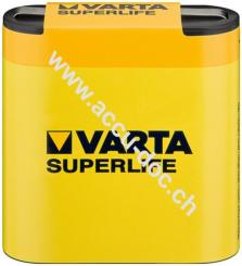Superlife 3R12/Flat (2012) - Zinkchlorid Batterie, 4,5 V