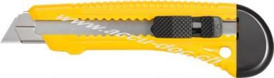 Mehrzweckmesser, Gelb - mit 18 mm Abbrechklingen, 155 mm x 30 mm