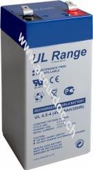 UL Bleiakku 4 V, 4,5Ah (UL4.5-4) - Faston (4,8 mm) Bleiakku