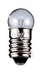 Taschenlampen-Kugel, 3 W, 3 W - Sockel E10, 24 V (DC), 100 mA