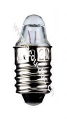 Taschenlampen-Spitzlinse, 0,25 W, 0.25 W - Sockel E10, 1,2 V (DC), 220 mA