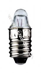 Taschenlampen-Spitzlinse, 0,75 W, 0.75 W - Sockel E10, 2,5 V (DC), 300 mA