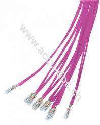 T1 Subminiatur-Glühlampe, 0,24 W, 0.24 W, Orange, 0.25 m - Orange, 0,25 m Kabel, 6 V (DC), 40 mA