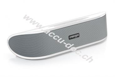 SoundBar, Weiß - Stereo-Lautsprecher mit USB-Plug 'n Play und AUX-In