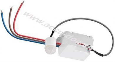 Infrarot Bewegungsmelder, Weiß - zur Unterputz-Deckenmontage, 360° Erfassung, 6 m Reichweite, für Innen (IP20), LED-geeignet