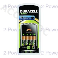 Duracell 15 Minute Charger +4 x AA Cells
