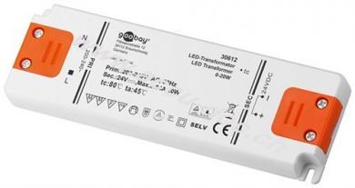 LED-Trafo 24 V (DC)/20 W, 20 W - 24 V DC für LEDs bis 20 W Gesamtlast