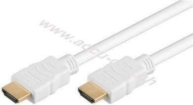 Series 1.4 High-Speed-HDMI™ Kabel mit Ethernet, 1.5 m, Weiß - HDMI™-Stecker (Typ A) > HDMI™-Stecker (Typ A)