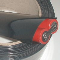 Schrumpfschlauch PVC 40mm Flachmass