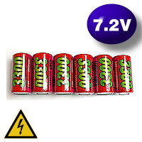GP HighPower 7.2V 3300 mAh Ni-MH
