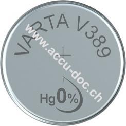Professional Electronics SR54 (V10GS) - Silberoxid-Zink-Knopfzelle, 1,55 V Uhrenbatterie