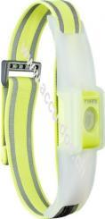 Outdoor Sports Reflective LED Band (16620), Gelb - 2 Leuchtmodi: dauerhaft und Blinkmodus