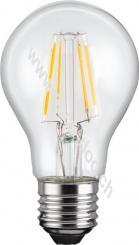 Filament-LED-Birne, 4 W - Sockel E27, ersetzt 39 W, warm-weiß, nicht dimmbar