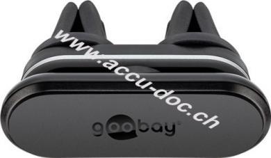Doppelmagnethalter für den Lüftungsschacht, Schwarz - zur einfachen und sicheren Befestigung im Fahrzeug
