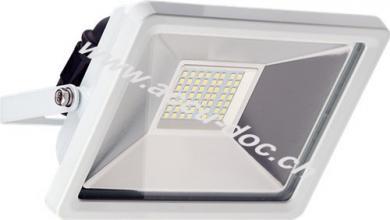 LED Außen-Flutlichtstrahler, 30 W, Weiß - Lichtlösung für Hauseingänge, Garten & Co.