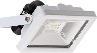LED Außen-Flutlichtstrahler, 10 W, Weiß - Lichtlösung für Hauseingänge, Garten & Co.