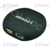 12V In-Car Charger 15-20V 90W + 2.1A USB