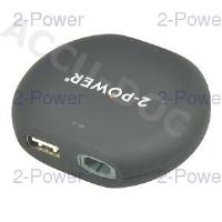 12V In Car Charger 15-20V 90W + 2.1A USB