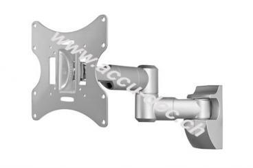 TV EasyScope Twin M, Silber - Doppel-Teleskopwandhalter für TVs bis 107 cm (42'')