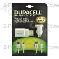 Duracell AC/DC Charging Bundle + Cables