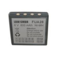 Akku für HBC FUB9NM, 6 V, 800 mAh NiMh