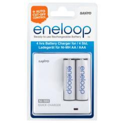 Sanyo - eneloop Ladegerät Quickcharger