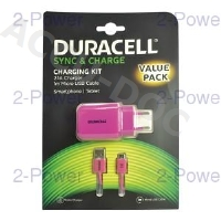 Duracell 2.1A AC Charger+Micro USB Cable