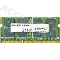 4GB MultiSpeed 1066/1333/1600 MHz SoDIMM