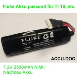 Nachbau Akku von FLUKE Ti-10, Ti-20, etc
