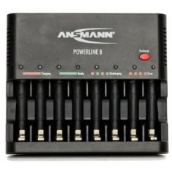 Ansmann Powerline 8 inkl. USB-Ladebuchse