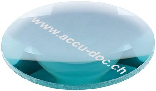 Lupenleuchten Ersatzlinse, 127 mm, Transparent-Blau - 127 mm, 2,25x Vergrößerung, +5 Dioptrien