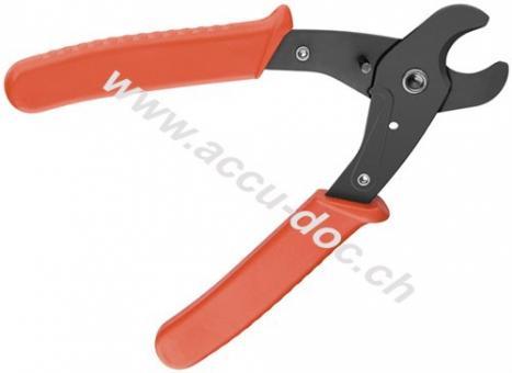 Kabelschneider - Zange 160 mm, Schwarz-Orange - für Kabel bis ø 10 mm²
